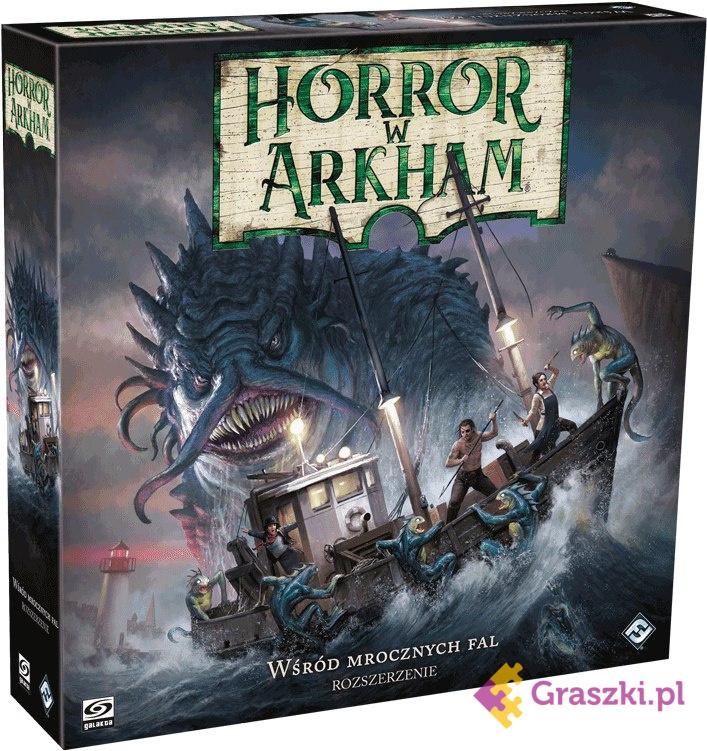 Horror w Arkham (trzecia edycja): Wśród mrocznych fal // darmowa dostawa od 249.99 zł // wysyłka do 24 godzin! // odbiór osobisty w Opolu